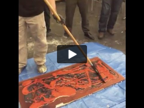 Every Wondered How A Marble Epoxy Floor Is Created We Ve