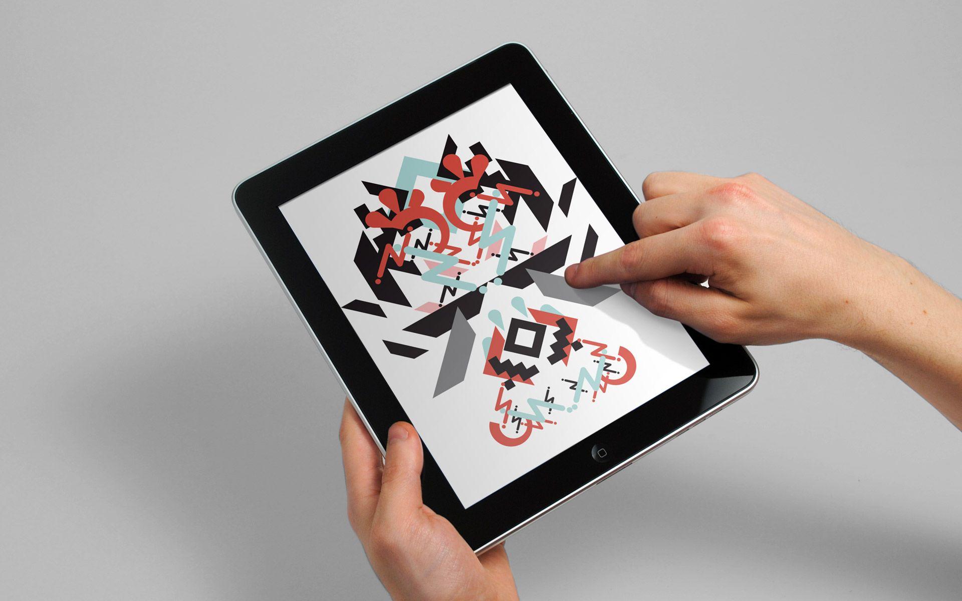 Sawdust — Work, Granimator Wallpaper app, Interactive