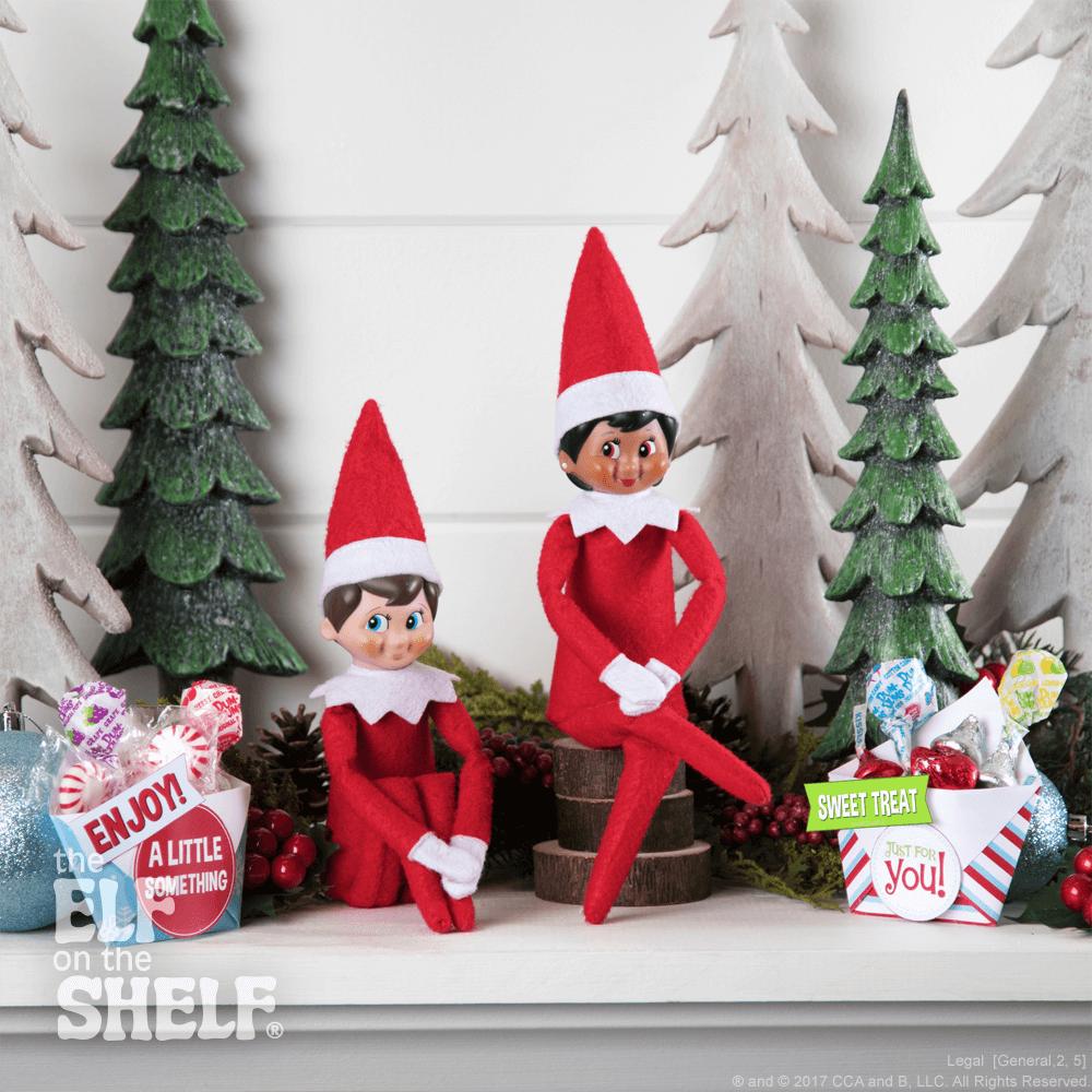 Treats for your Christmas Elf Elf Props Elf Accessories Xmas Shelf