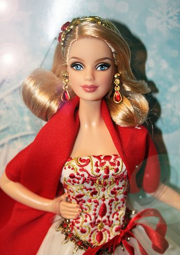 2010 Happy Holiday Barbie