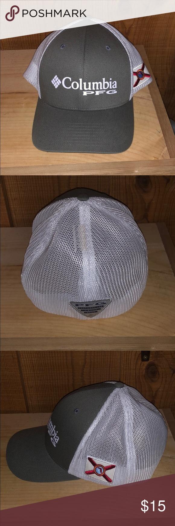 Men S Columbia Pfg Stretch Fit Hat Size L Xl Fitted Hats Hat Sizes Columbia Pfg