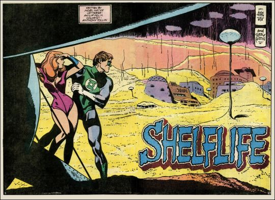Green Lantern #171 by Alex Toth and Terry Austin