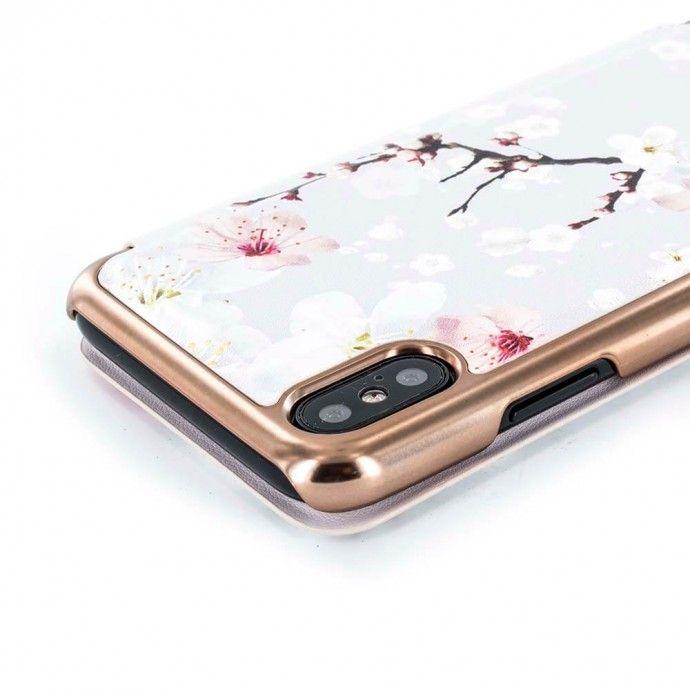 0a95cd5f4fb Ted Baker BREEK Mirror Folio Case for iPhone X / XS - Oriental ...