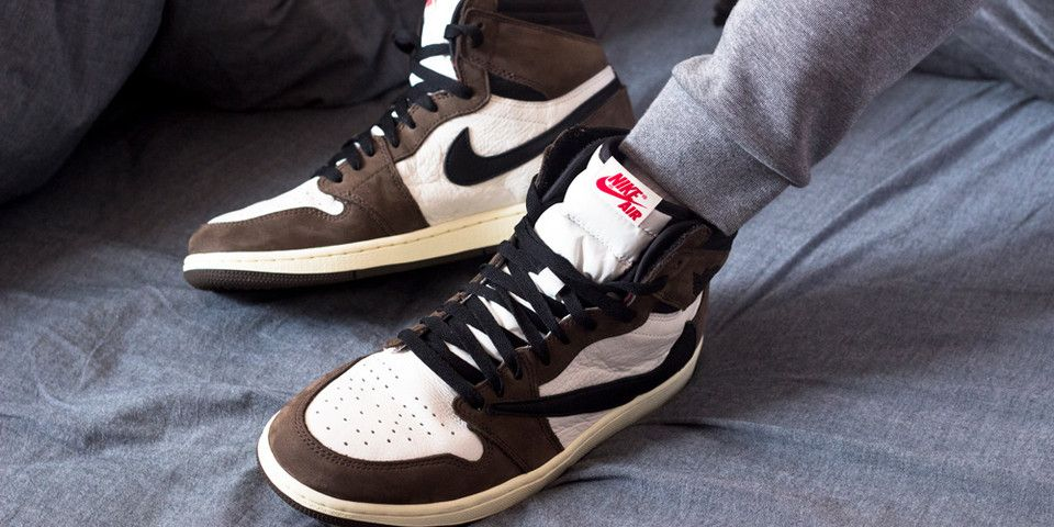 release date: 8a200 51e8f Here s an On-Foot Look at Travis Scott s Air Jordan 1