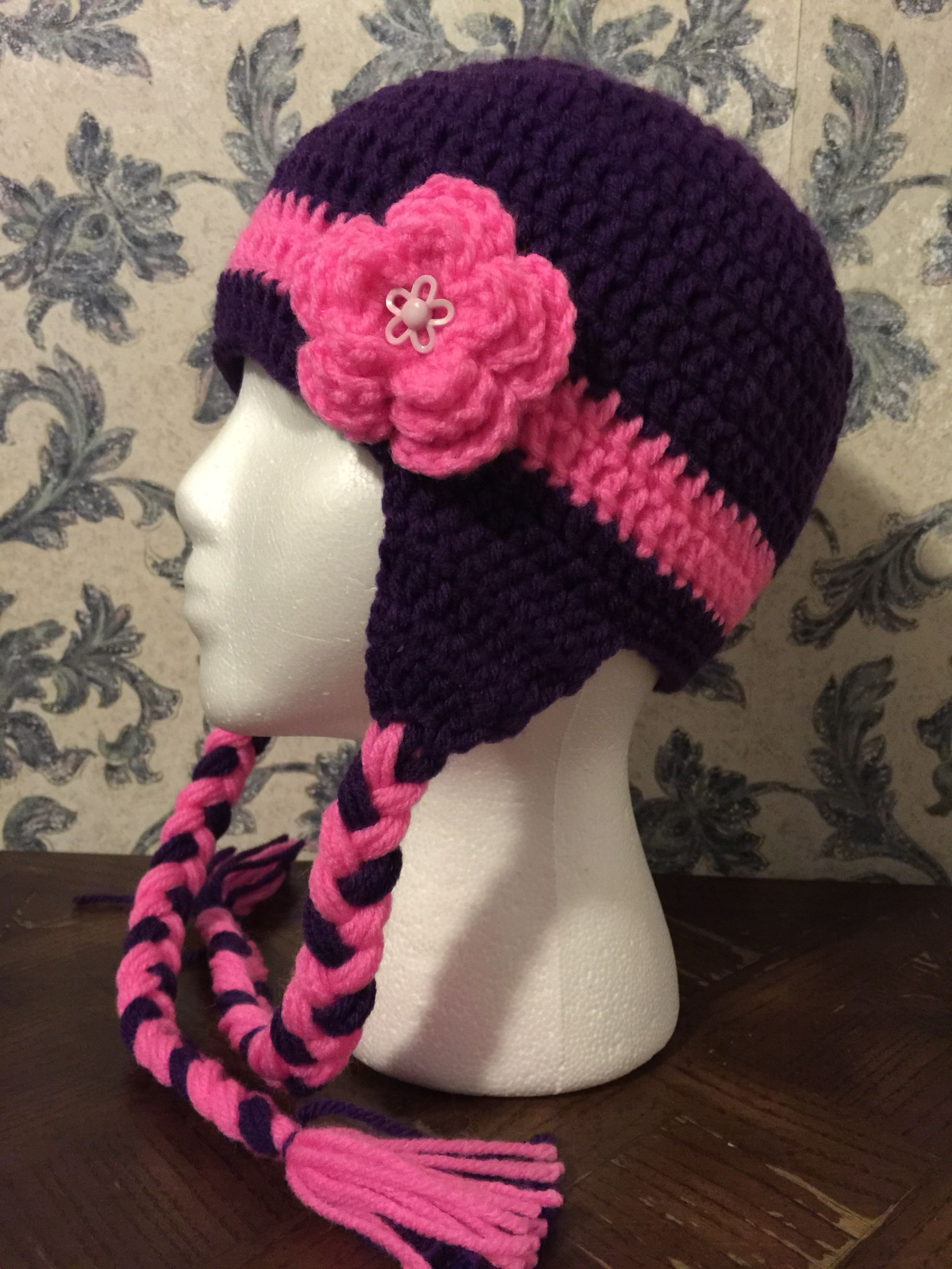 ✨Chochet flower hat ✨