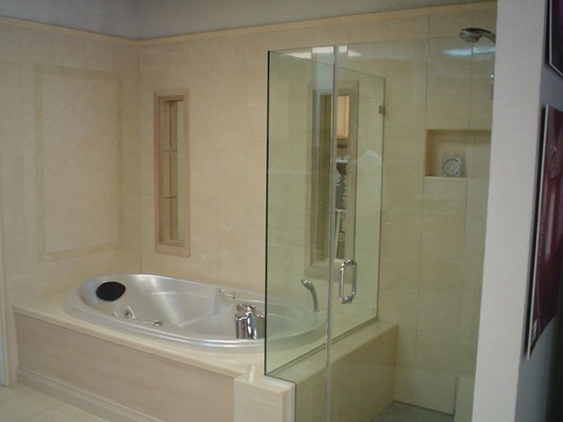 How Far Should You Install A Glass Shower Door Below The Ceiling? Answer: I