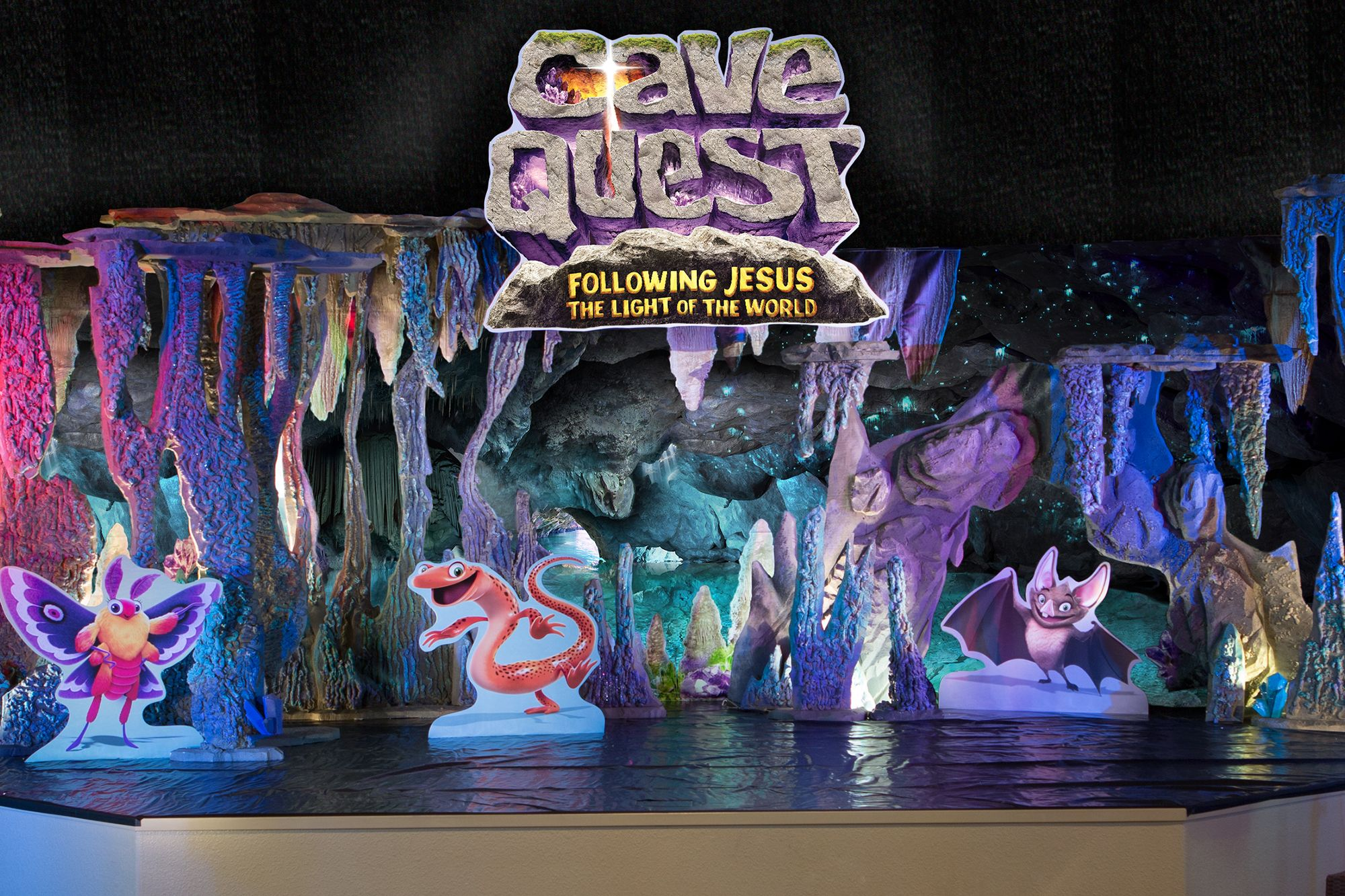 the set for Cave Quest! #vbs2016 | Cave Quest VBS ...