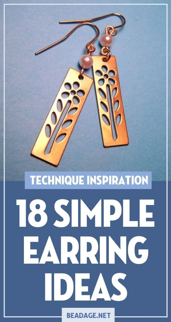 Photo of 18 Simple & Easy Earring Making Ideas – Jewelry Making