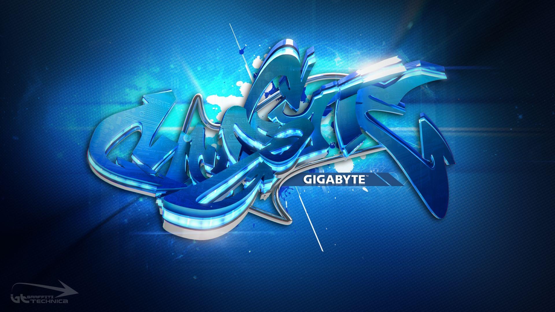 3d Graffiti Gigabyte Desktop Hd Cool Wallpapers Graffiti Wallpaper Best Graffiti