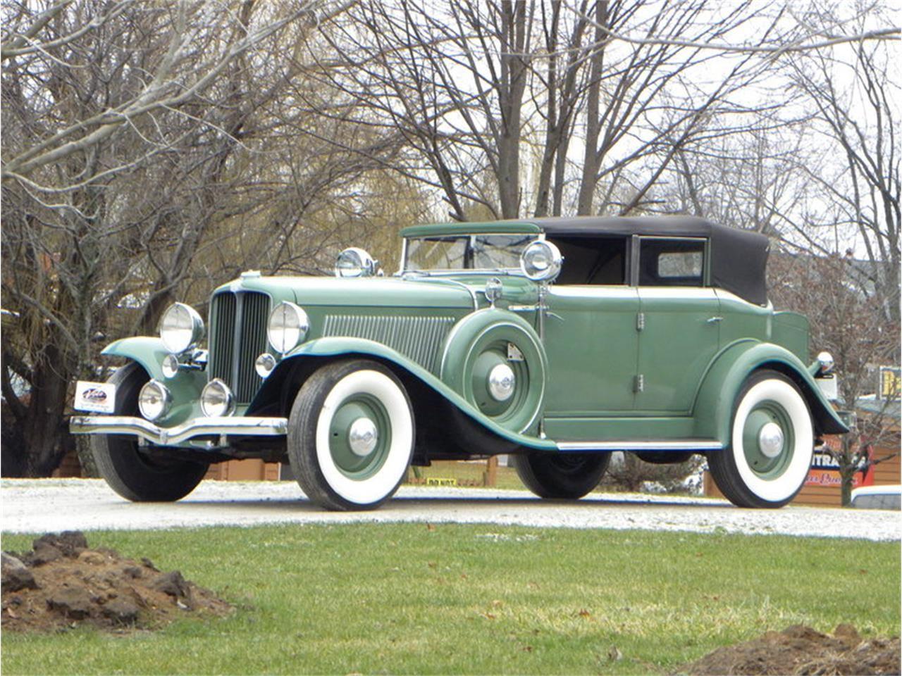 Green 1933 Auburn Phaeton Custom 12 for sale located in
