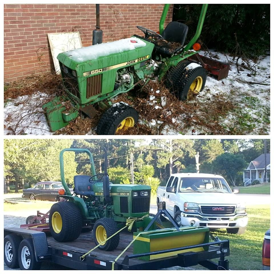 Advertisement John Deere 650 Before And After Pictures Wow