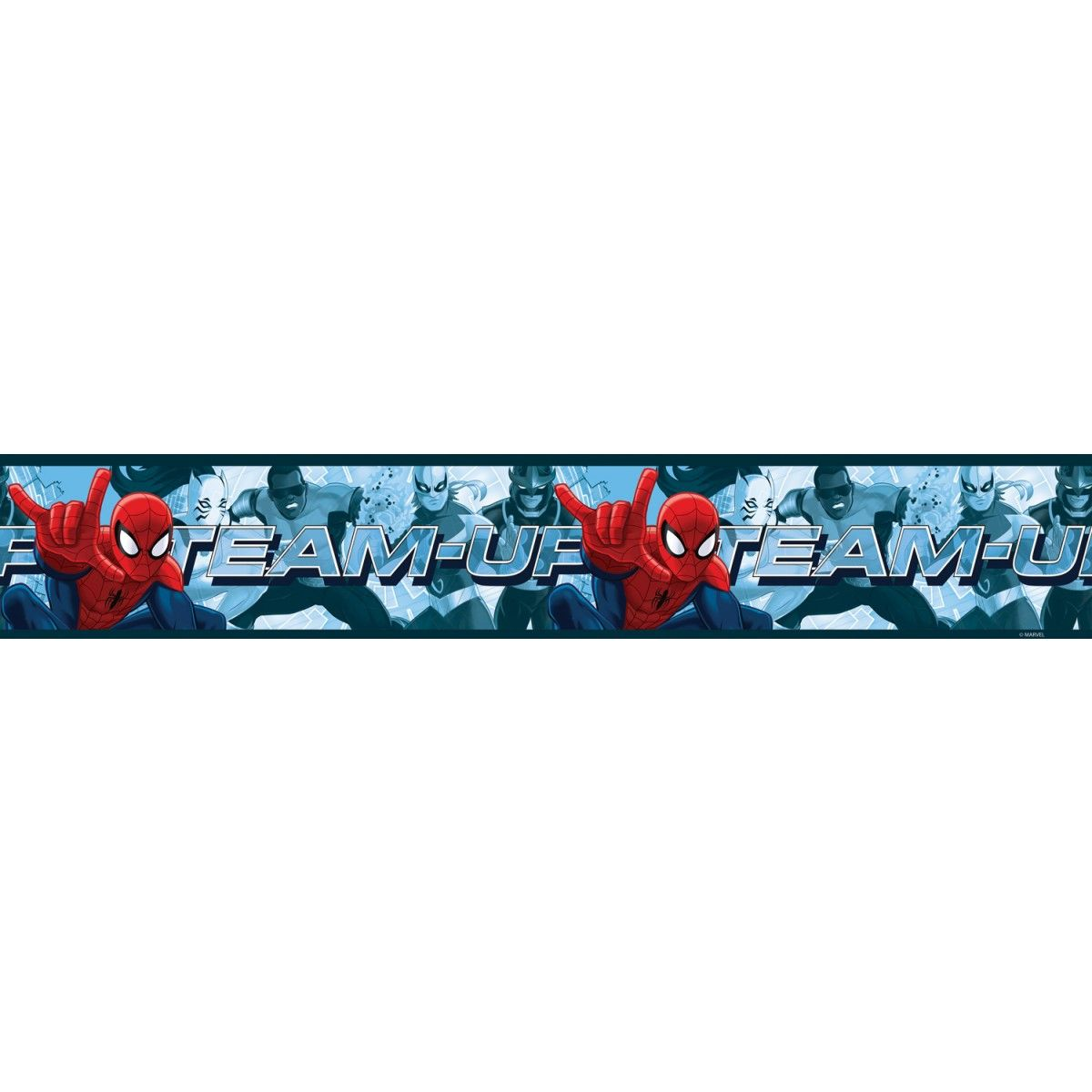 Spiderman Team Up Self Adhesive Wallpaper Border 5m (With