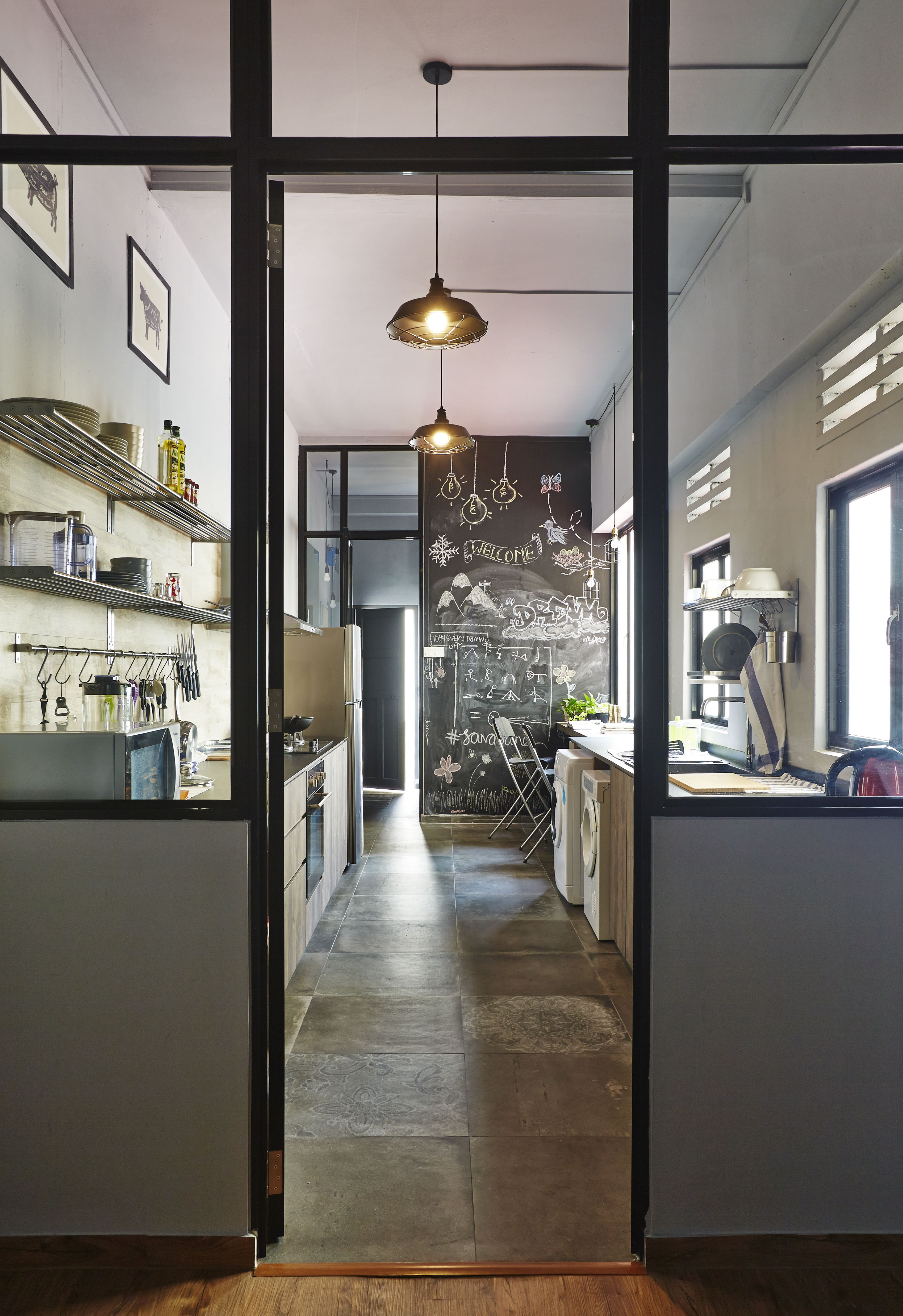 Extraordinary Old Walk Up Apartment Being Transform By Three