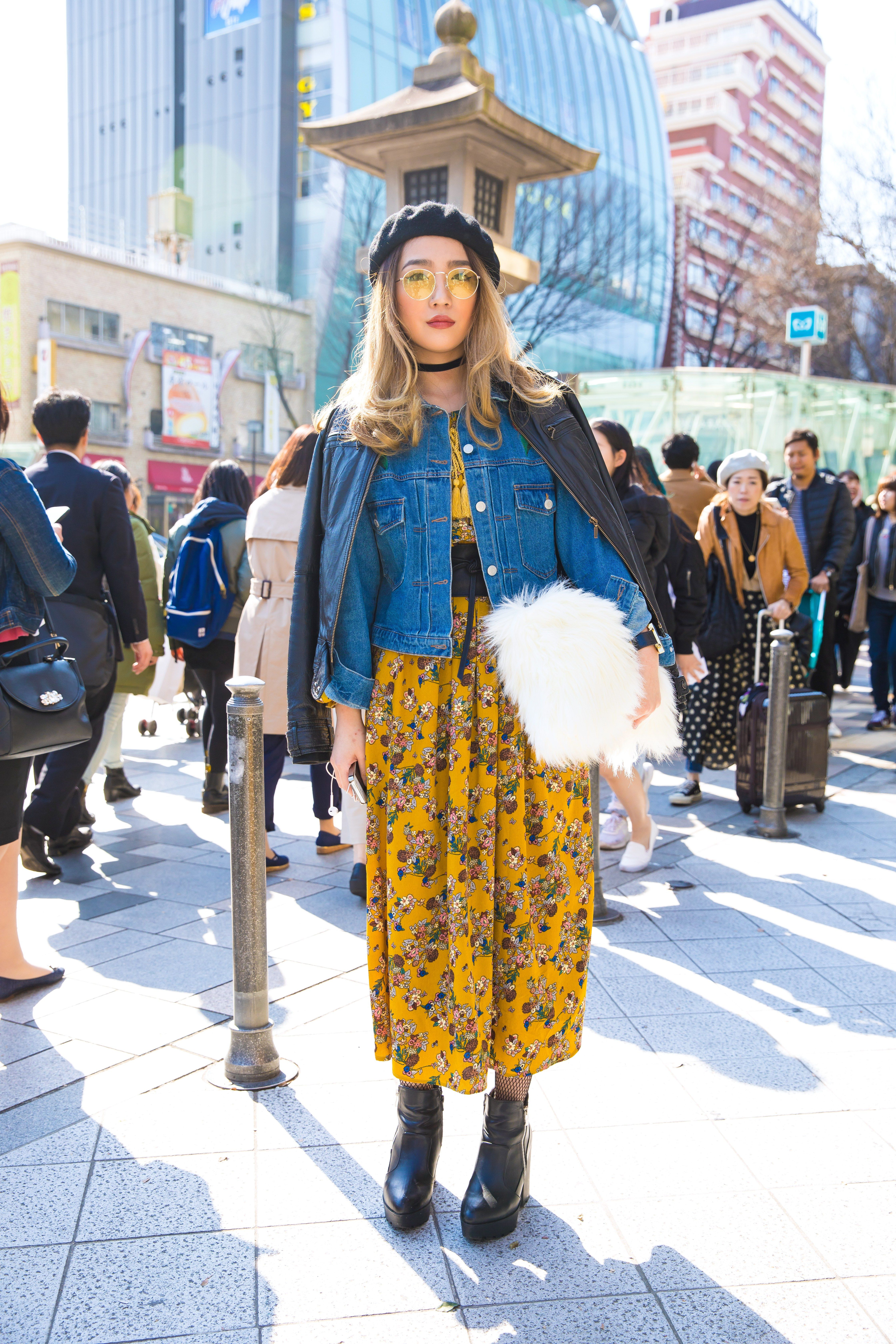 The Best Street Style From Tokyo Fashion Week Fall 2017 In 2019