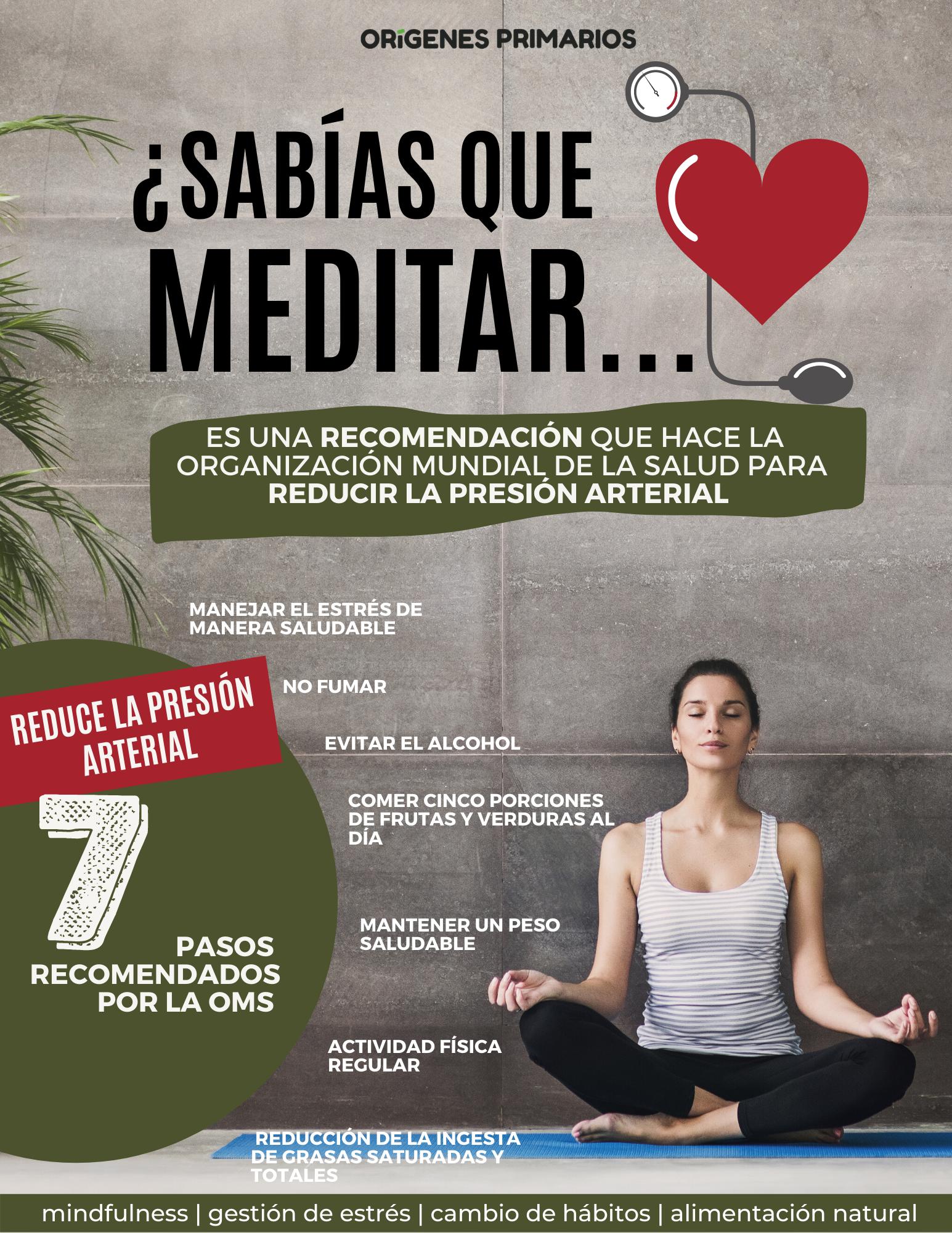 Meditar reduce la presión arterial en 2020 - Consejos de..