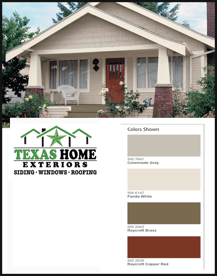Cool Neutral Colonnade Gray Panda White Roycroft Brass Roycroft Co Exterior House Paint Color Combinations House Paint Exterior Exterior Paint Colors For House