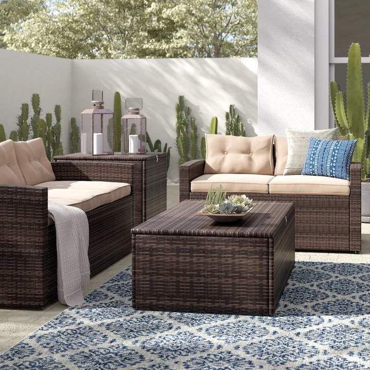 Best Sol 72 Outdoor Arlington 4 Piece Rattan Sofa Seating Group 400 x 300