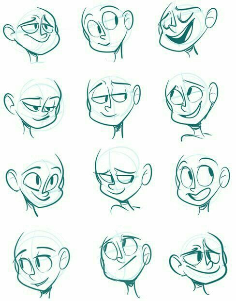 Pin De James En Personajes Dibujar Caras De Dibujos Animados Bocetos Dibujos
