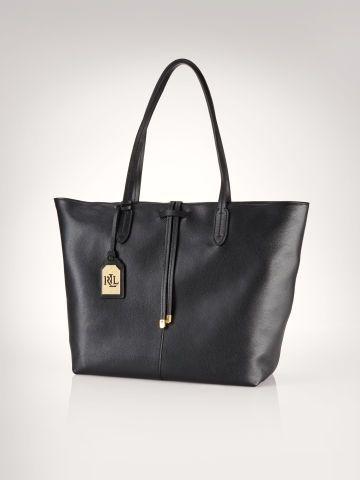 Lauren Crawley Leather Tote - Lauren Tote Bags - Ralph Lauren Germany