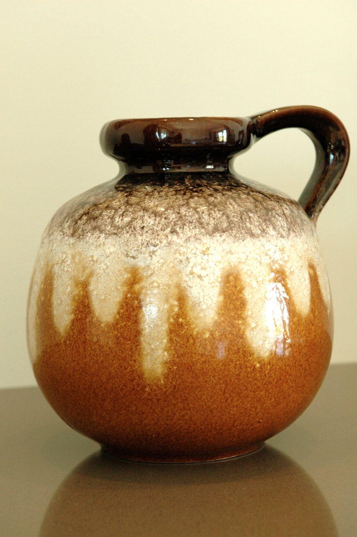 Vintage west germany scheurich keramik jug vase vases pinterest vintage west germany scheurich keramik jug vase reviewsmspy