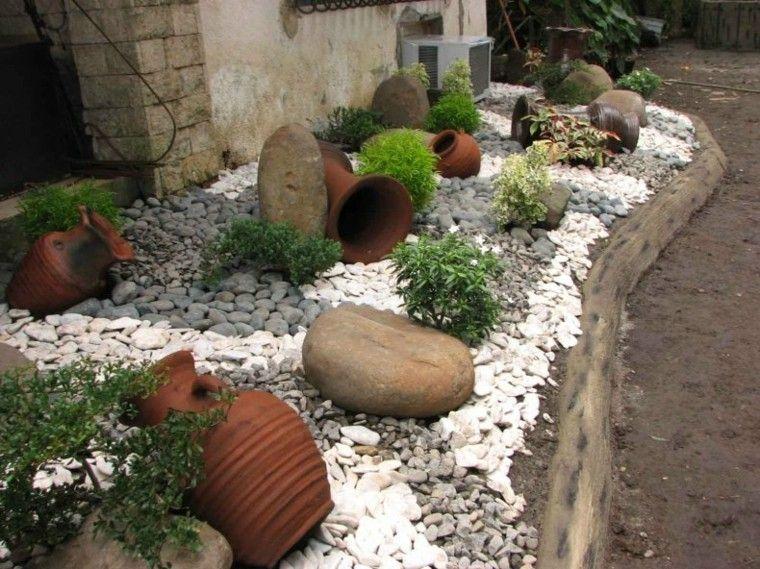 Piedras decorativas para tu jard n japon s barro for Decoracion de jardin con ollas de barro