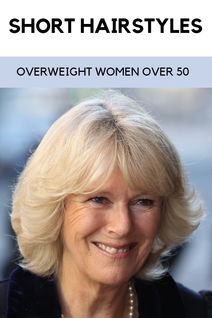 Short Hairstyles For Overweight Women Over 50