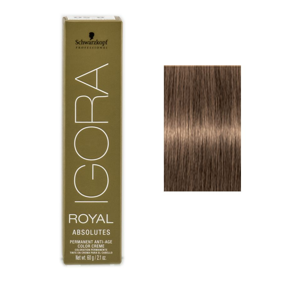 Schwarzkopf Professional Igora Royal Absolutes Hair Color 7 50 Medium Blonde Gold Natural For Those Stubborn Grey Hair Color Schwarzkopf Professional Color