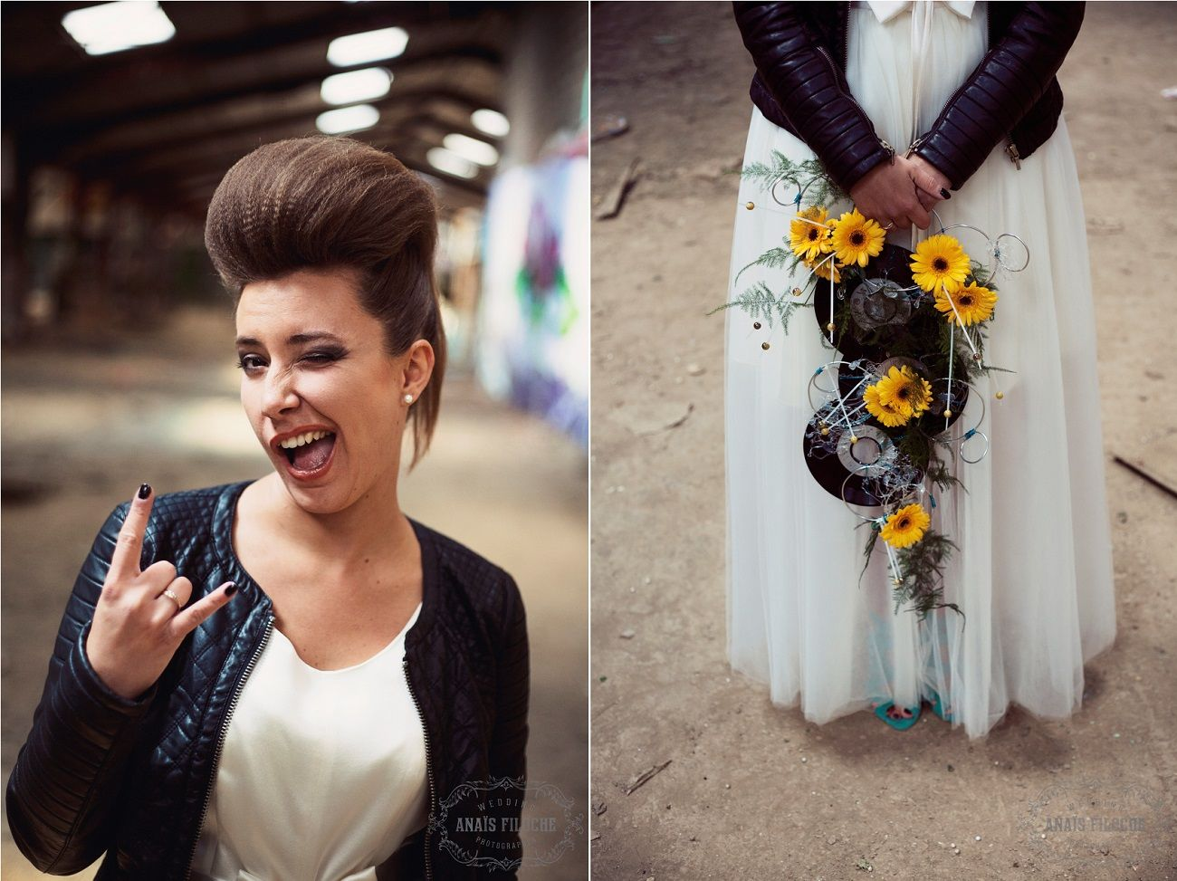 Mariage thème rock : Inspiration