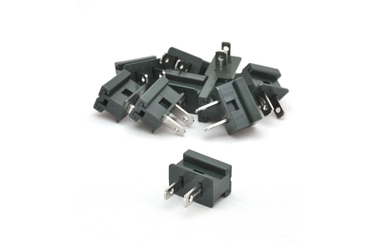 Male Slide On Plug, Green, Pack of 10 | Pinterest | Outlets and Products