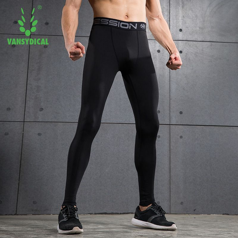 4fae314110a82a Sport Joggers Compression Track Pants Fitness Men Running Tights GYM  Clothing Football Basketball Training Leggings S-XXL