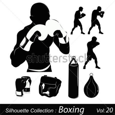 Box Glove Vector Poisk V Google Boxe Puff De Croche Taekondo