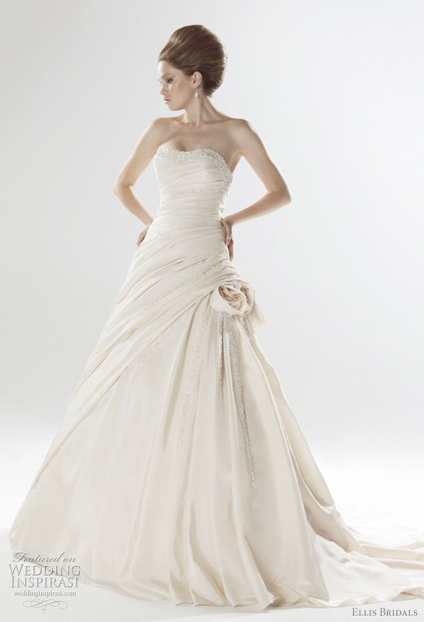 2011 Wedding Dresses from Ellis Bridals London Collection   Take His ...
