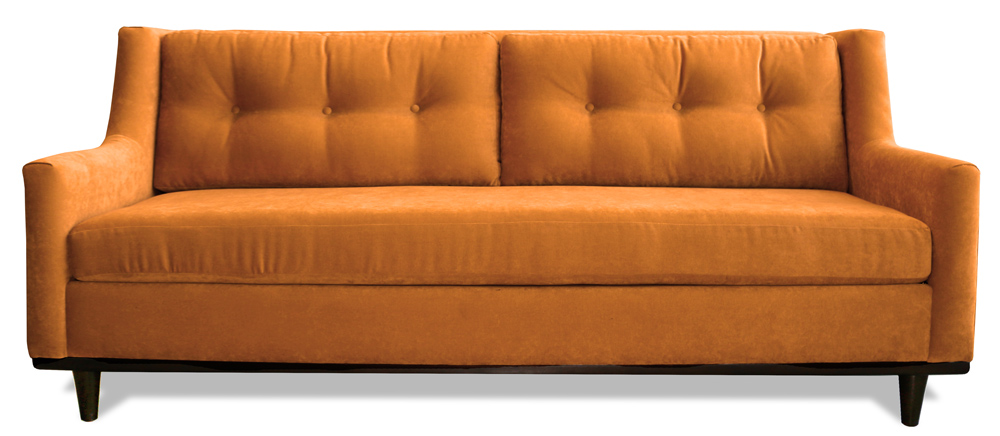 Leather Sectional Sofa Twiggy Custom Sofa Sectional Couch Los Angeles The Sofa Company