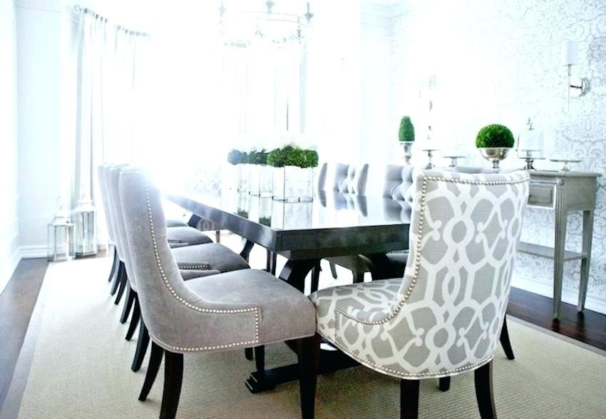 Tufted Wingback Dining Chair Upholstered Dining Chairs Peacock Blue Velvet Abbyson Sierra Tufte Grey Dining Room Transitional Dining Room Dining Room Furniture