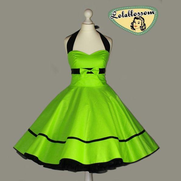 zelené jablko spodnička šaty - LolaBlossom.com  c67b805dba