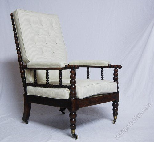 William IV Bobbin Chair With Copes Patent Castors Antiques Atlas