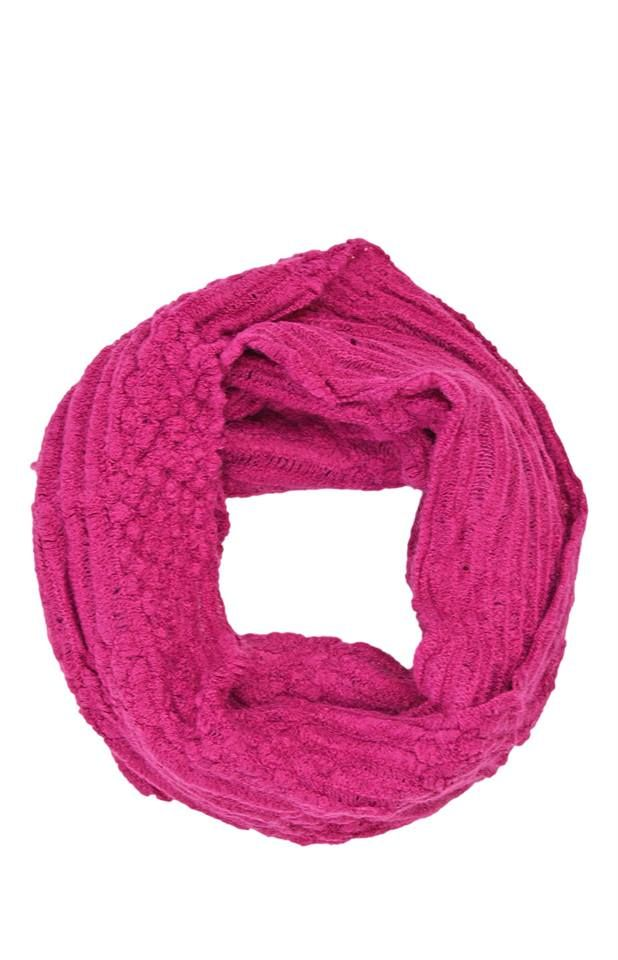 lyst purple ines pink infinity s accessories chal in scarf marechal mar