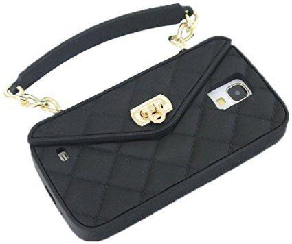 アウトレット パッケージ無し pursecase ( パースケース ) galaxy s4 ケース ミニ バッグ型SAMSUNG GALAXY BLACK ギャラクシーS4 シリコン ブラック カバー サムスン 海外 ブランド アメリカ