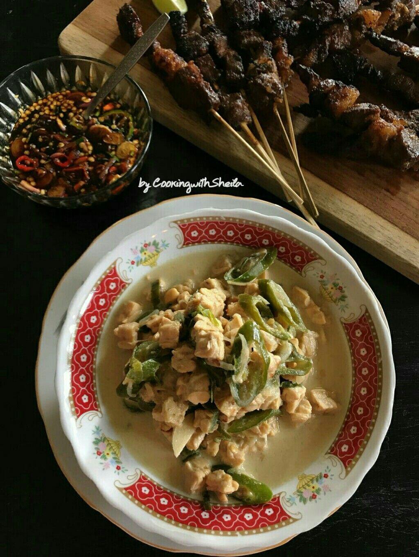 Tempe Oblok Oblok Makanan Tempe Ayam