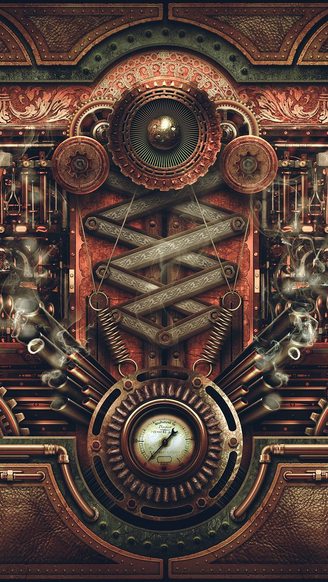 Steampunk wallpaper android pesquisa google blur love pinterest steampunk wallpaper - Steampunk mobel ...