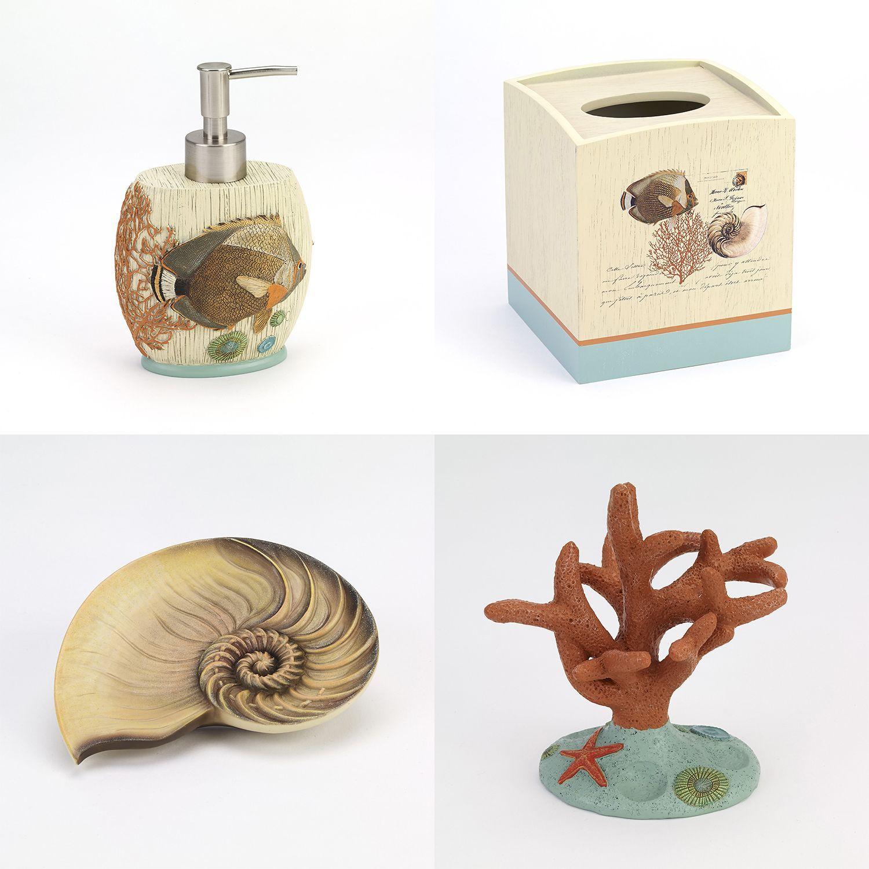 Seaside Vintage Bathroom Accessories | Vintage bathroom accessories ...