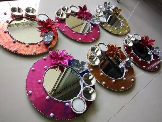 Pooja thali wedding pinterest diwali decoration and trousseau pooja thali junglespirit Choice Image