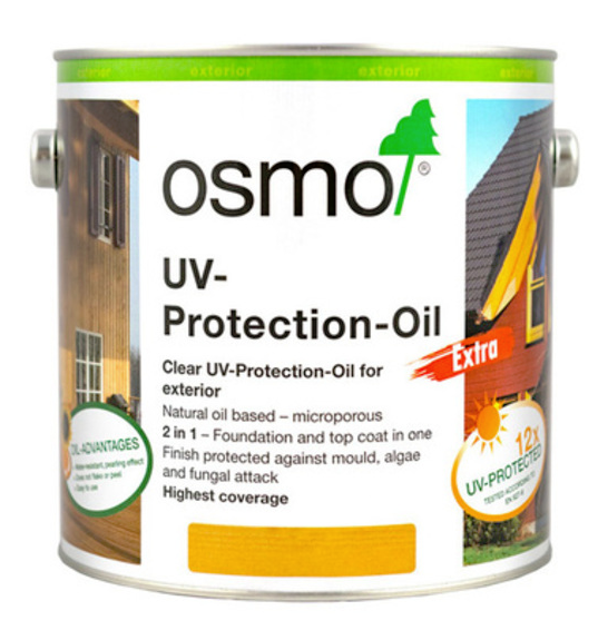 Osmo UVProtection Oil Clear Extra With Active Ingredients