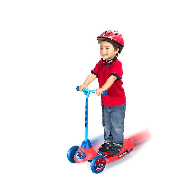 The First Electric Scooter For Kids Spider Man Pulse Safe Star