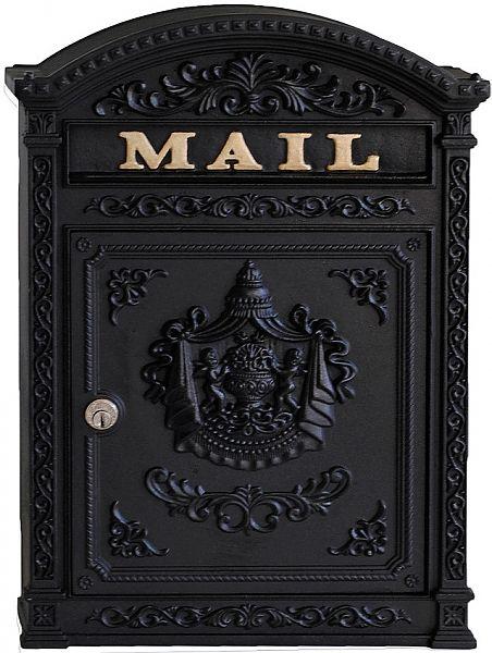 Fuoriserie Ecco 6 Italian Style Wall Mount Locking Mailbox Wall Mounted Mailbox Victorian Mailboxes Classic Mailbox Wall mounted mailboxes with locks