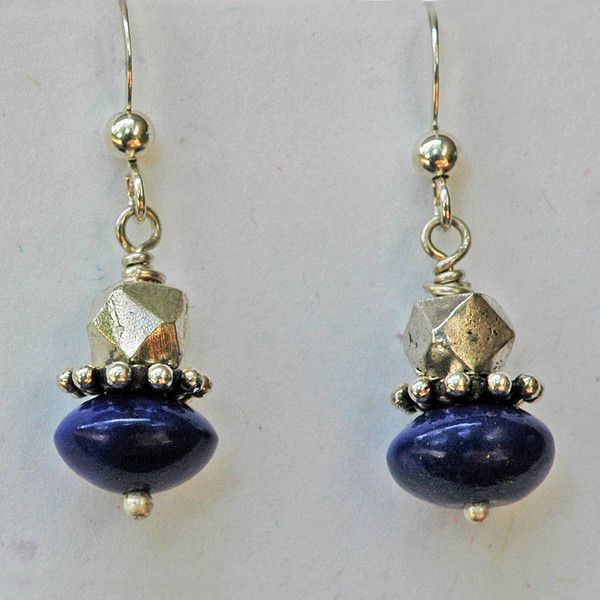 Lapis Earrings — Soho South Imports