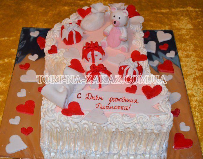 Форма торта ребенку на годик в форме еденицы