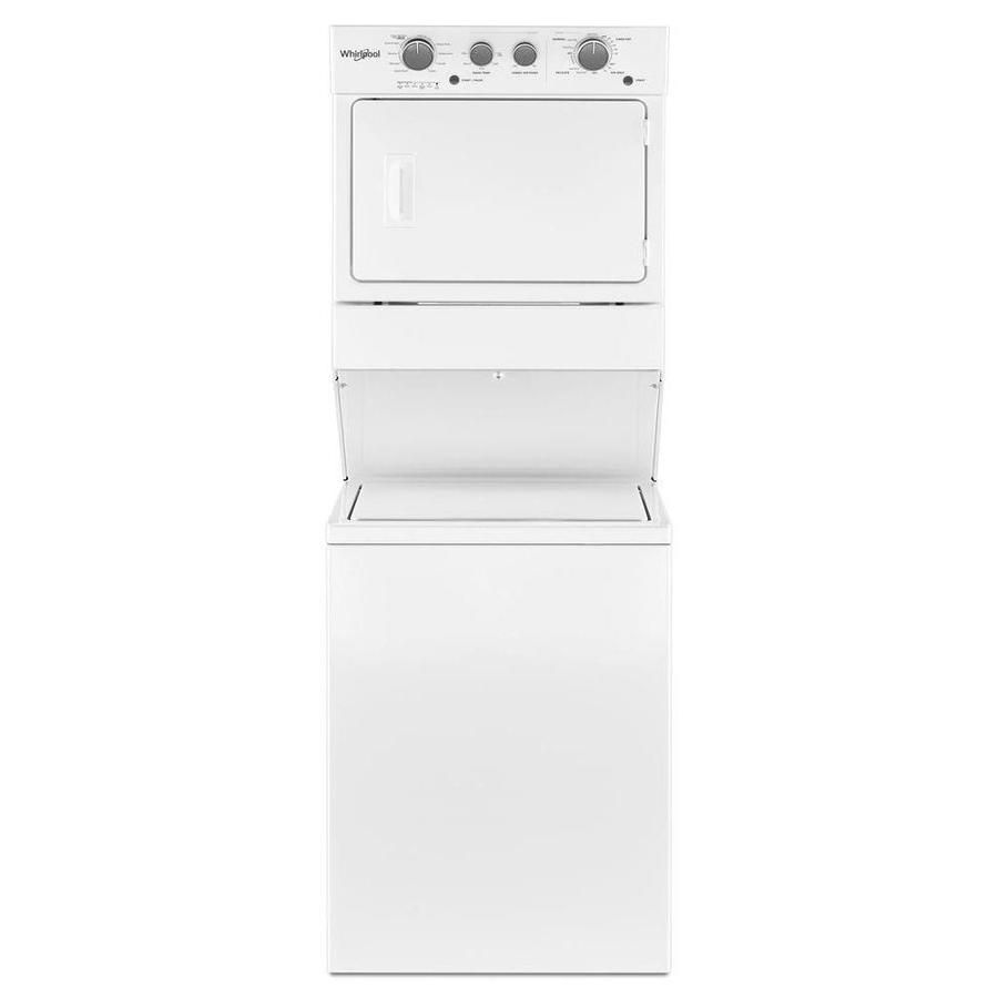 Whirlpool Gas Stacked Laundry Center With 3 5 Cu Ft Washer And 5 9