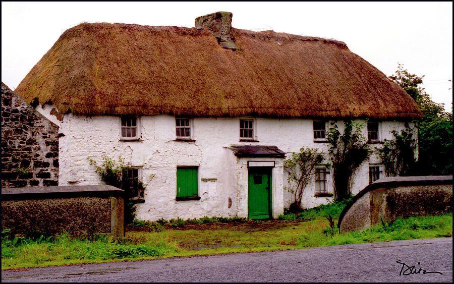 irish thatched cottages in ireland blueprints irish thatched rh pinterest co uk