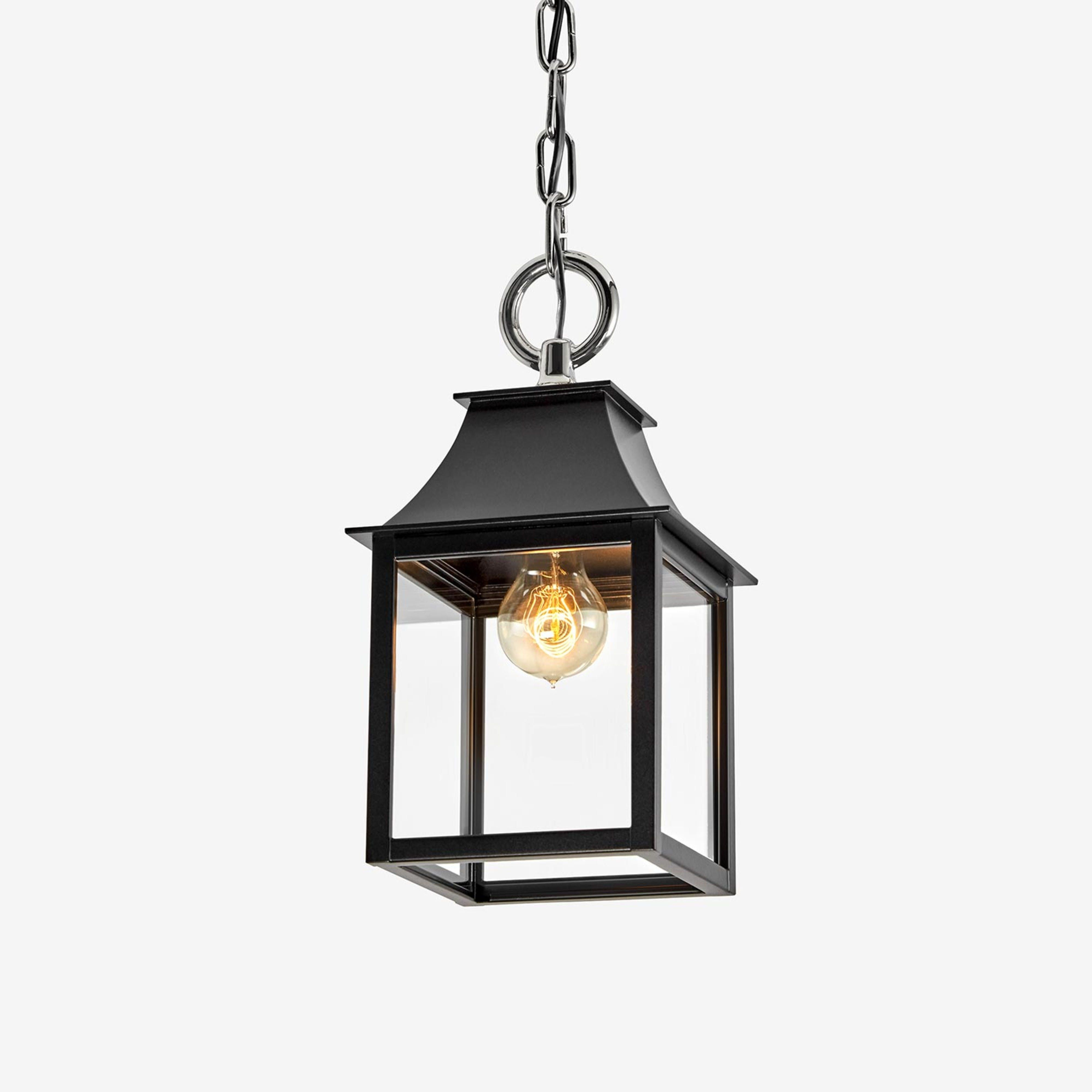 Shop The Mini Stable Lantern Style Pendant Light A Highly Customizable Light Fixture Hand Made By Craftsmen And Small Lanterns Pendant Light Exterior Lighting